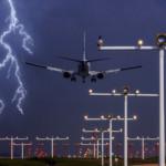 airplane lightning strike damage